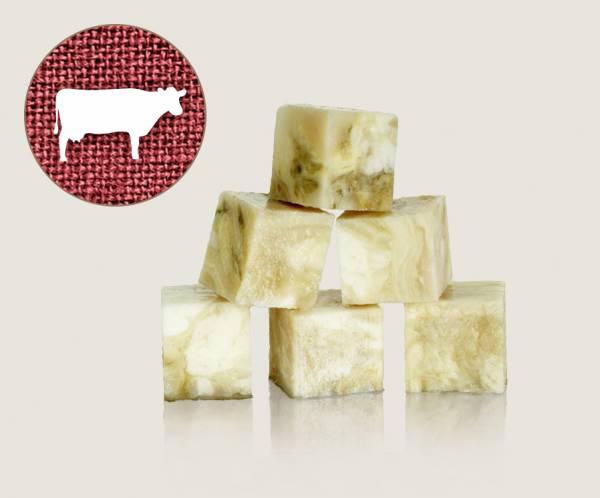 Graf Barf Weißer Rinderpansen - hochwertige Rohfutterwürfel für Hunde bestellen!