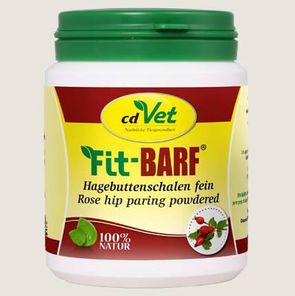 cdVet Fit Barf Hagebuttenschalen für Ihren Hund - reich an Vitamin C, Carotinoiden, Fruchtsäuren und Pektinen