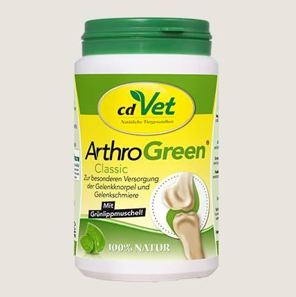 cdVet Arthro Green Classic - für eine optimale Versorgung mit Vitaminen, Spurenelementen, Aminosäuren und ausgesuchten Kräutern