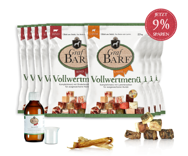 Graf Barf Vollwertpaket Mix