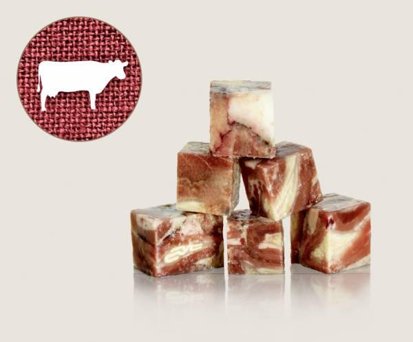 Graf Barf Schlundfleisch vom Rind - hochwertige Rohfutterwürfel für Hunde bestellen!