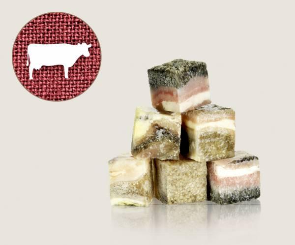 Graf Barf Grüner Rinderpansen - hochwertige Rohfutterwürfel für Hunde bestellen!
