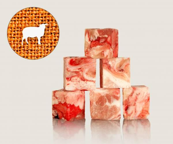 Graf Barf Geschlinge-Mix vom Lamm - hochwertige Rohfutterwürfel für Hunde bestellen!