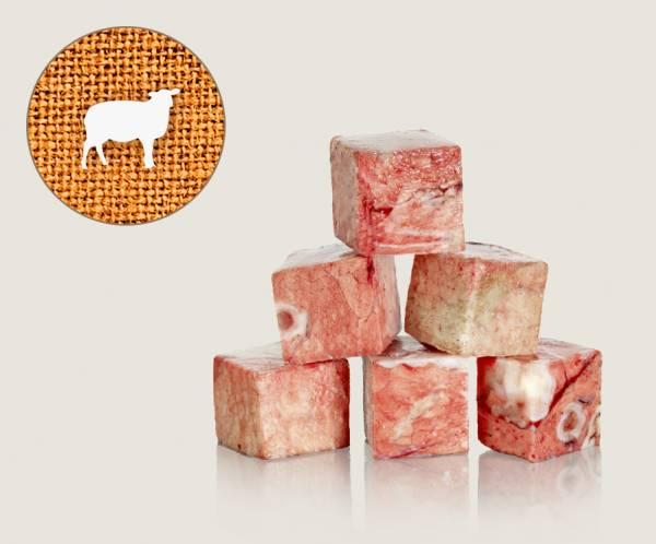 Graf Barf Lunge Lamm / Lammlunge - hochwertige Rohfutterwürfel für Hunde bestellen!