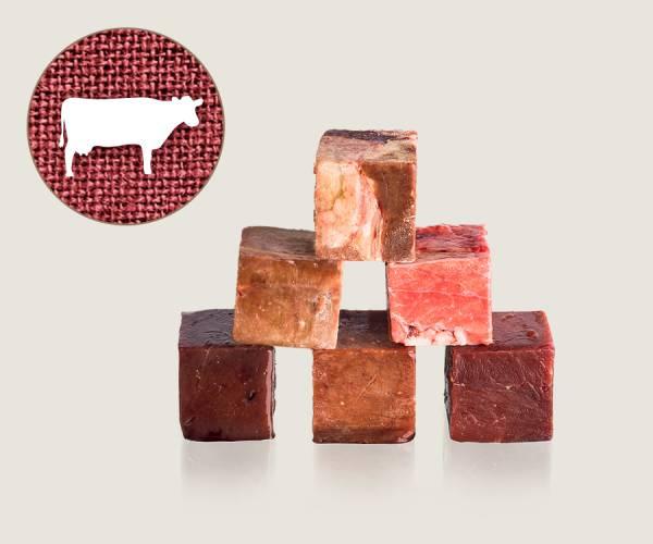 Graf Barf Rinderinnereien-Mix - hochwertige Rohfutterwürfel für Hunde bestellen!