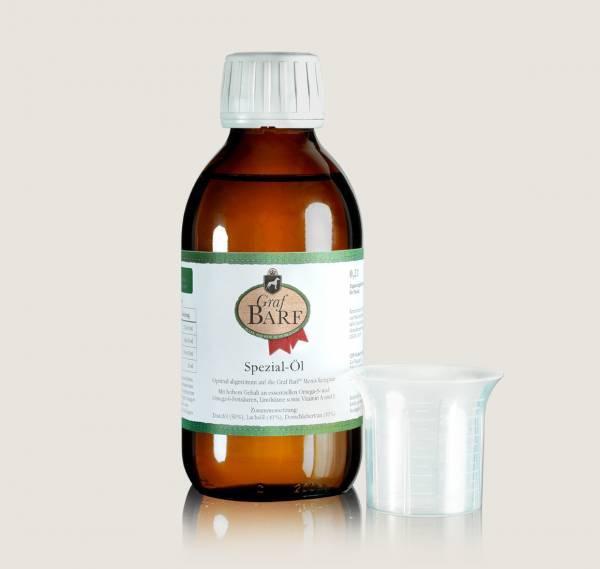 Graf Barf Öl, das Spezial-Öl zum Barfen für Hunde - für vollwertige Barf-Menüs!