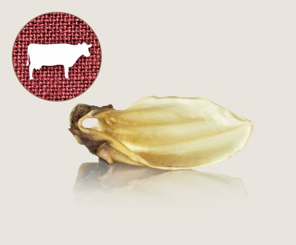 Graf Barf Getrocknetes Rinderohr / Knusper-Ohr vom Rind - hochwertigen Knabberspaß für Hunde bestellen!